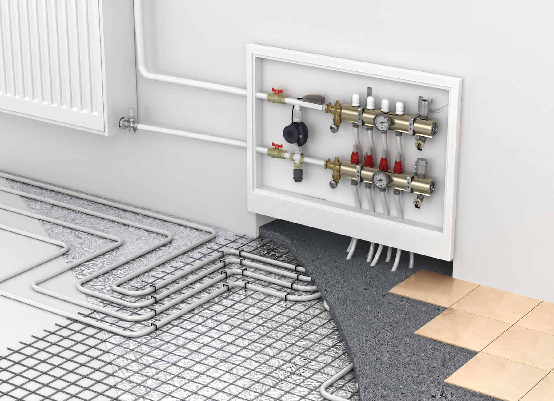 Plumber Tukwila, Renton, Bellevue & Seattle WA | Radiant Heating Service